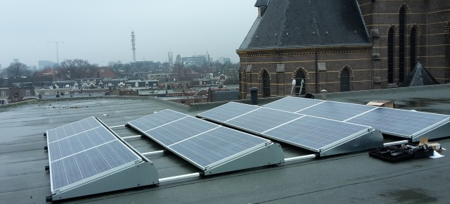 We hebben zonnepanelen!